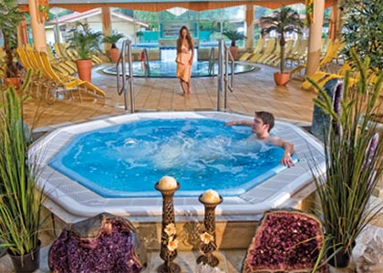 Baden, Sauna, Wellness und Massagen